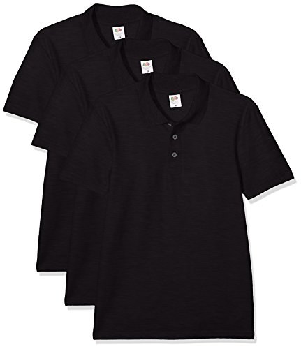 Fruit of the Loom Men's Polo Shirt (Pack of 3) 1