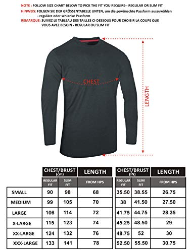 FULL TIME SPORTS® FTS-634 Unique Blend Fabric Round Neck Tech T-Shirts 3