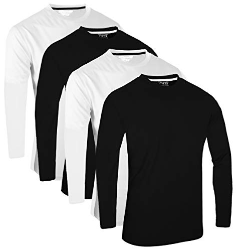 FULL TIME SPORTS® FTS-634 Unique Blend Fabric Round Neck Tech T-Shirts 1
