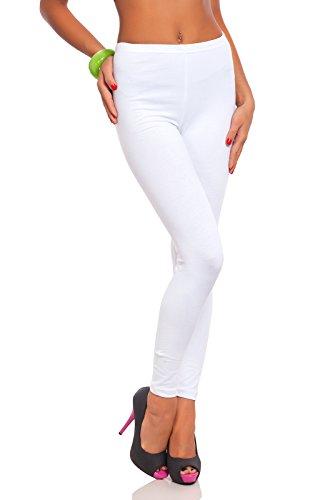 FUTURO FASHION Women's Full Length Cotton Leggings Soft, Plus Sizes 1