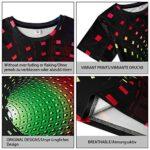 Fanient Men's T-Shirt 3D Printed Pattern Quick Dry Casual Summer T Shirts Novelty Short Sleeve T-Shirt 20