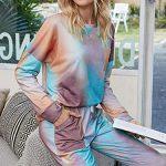 GAESHOW Ladies Pyjamas Set Womens Silk Satin Pajamas Set pJ Sets Long Sleeve Sleepwear Loungewear for All Seasons 18