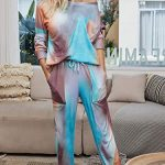 GAESHOW Ladies Pyjamas Set Womens Silk Satin Pajamas Set pJ Sets Long Sleeve Sleepwear Loungewear for All Seasons 19