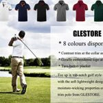 GLESTORE Mens Polo Shirts Giraffe MT1030 Golf Tennis T-Shirt 21