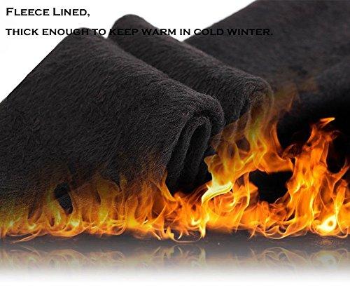 HapiLeap Women Winter Super Thick Warm Velvet Stretchy Leggings Pant 3