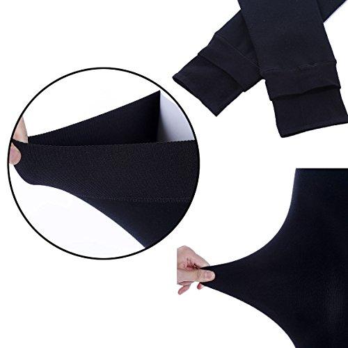 HapiLeap Women Winter Super Thick Warm Velvet Stretchy Leggings Pant 5