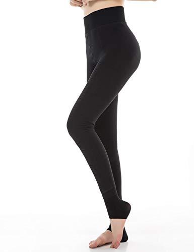 HapiLeap Women Winter Super Thick Warm Velvet Stretchy Leggings Pant 6