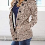 Happy Sailed Womens Hooded Button Down Cardigan Coat with Pockets 11
