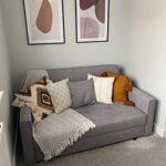 Honeypot - Sofa - Viva - Large Storage Sofa Bed - 3 Seater - 2 Seater - Grey - Plush Grey - Teal - Fabric (2 Seater… 19