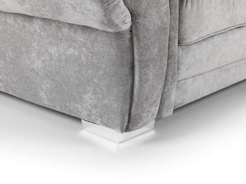 Honeypot - Sofa - Verona - Fullback - Corner Sofa - 3 Seater - 2 Seater - Footstool (Beige, 2 Seater) 3
