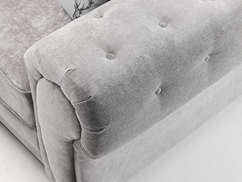 Honeypot - Sofa - Verona - Fullback - Corner Sofa - 3 Seater - 2 Seater - Footstool (Beige, 2 Seater) 4