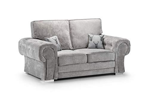 Honeypot - Sofa - Verona - Fullback - Corner Sofa - 3 Seater - 2 Seater - Footstool (Beige, 2 Seater) 1