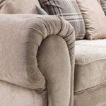 Honeypot - Sofa - Verona - Fabric - Corner Sofa - 3 Seater - 2 Seater - Footstool (Grey, 2 Seater) 13