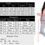 Irevial Womens Casual Loungewear Long Sleeve Sweatshirt Hoodies Pants Tracksuits Jogging Sportwear Outfits Set 40