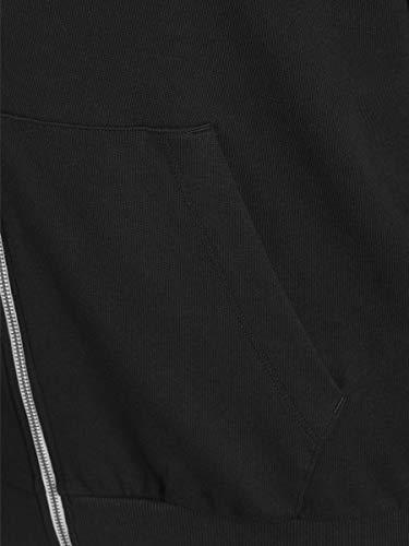 JACK & JONES Men's Jjeholmen Sweat Zip Hood Noos Jacket 3