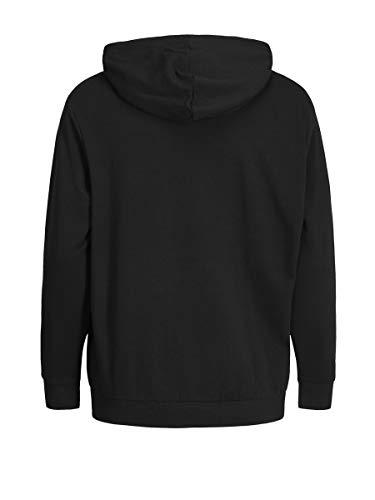 JACK & JONES Men's Jjeholmen Sweat Zip Hood Noos Jacket 7