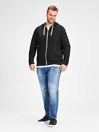 JACK & JONES Men's Jjeholmen Sweat Zip Hood Noos Jacket 8