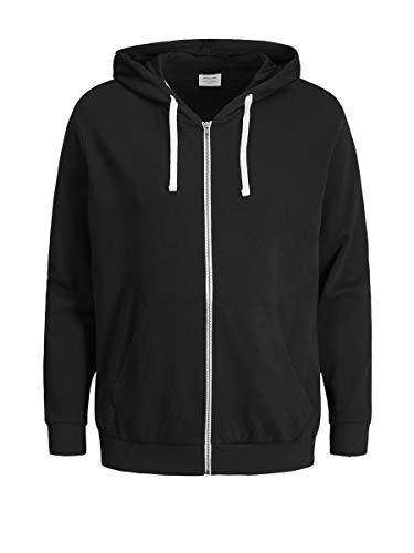 JACK & JONES Men's Jjeholmen Sweat Zip Hood Noos Jacket 1