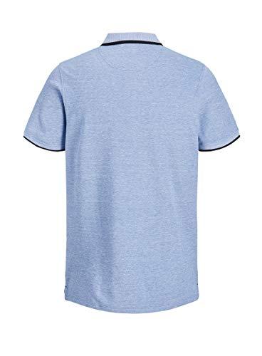 JACK & JONES Men's Jjepaulos Polo Ss Noos Shirt 3