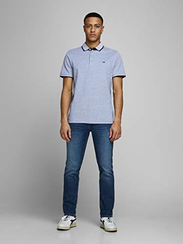 JACK & JONES Men's Jjepaulos Polo Ss Noos Shirt 4