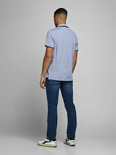 JACK & JONES Men's Jjepaulos Polo Ss Noos Shirt 8