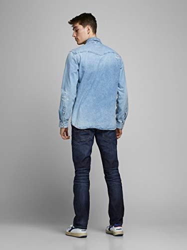 JACK & JONES Men's Regular Leg Jeans JJVCClark Original JOS 318 NOOS 4