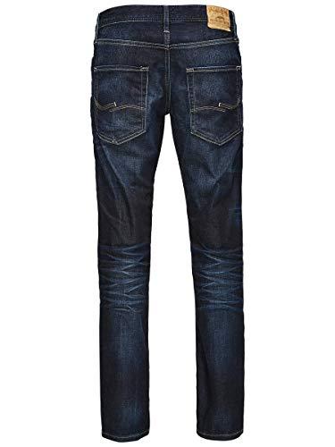 JACK & JONES Men's Regular Leg Jeans JJVCClark Original JOS 318 NOOS 5