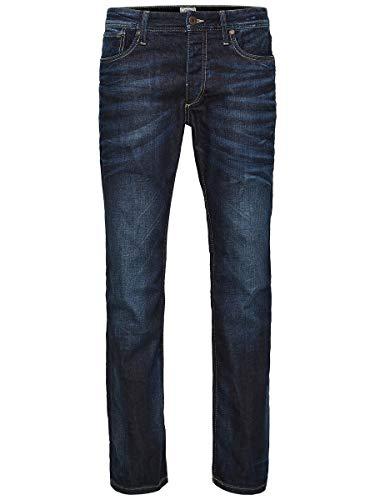 JACK & JONES Men's Regular Leg Jeans JJVCClark Original JOS 318 NOOS 1