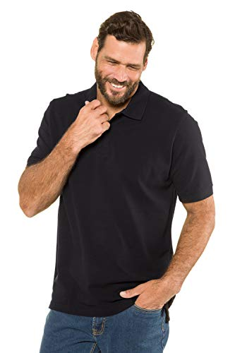JP 1880 Menswear Big & Tall Plus Size L-8XL Classic Cotton Pique Polo Shirt 702560 5