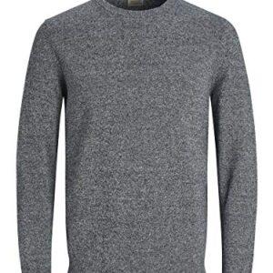 TACVASEN Mens Jumper Quarter Zip Neck Sweater Mock Neck Casual Work Pullover Knitted Jumper
