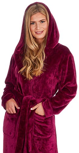 KATE MORGAN Ladies Soft, Comfy & Cosy Dressing Gown 4