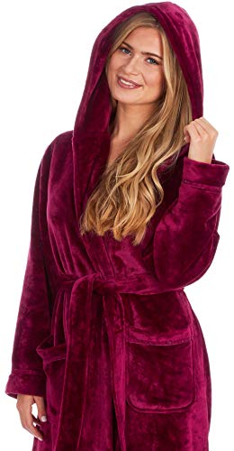 KATE MORGAN Ladies Soft, Comfy & Cosy Dressing Gown 5