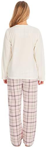 KATE MORGAN Ladies Soft & Cosy Fleece Animal Pyjamas 3