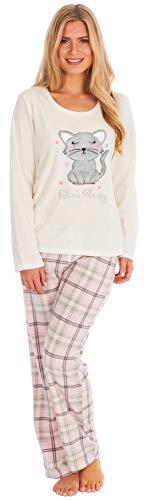 KATE MORGAN Ladies Soft & Cosy Fleece Animal Pyjamas 5