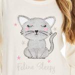 KATE MORGAN Ladies Soft & Cosy Fleece Animal Pyjamas 21