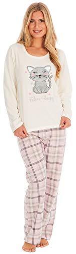 KATE MORGAN Ladies Soft & Cosy Fleece Animal Pyjamas 7