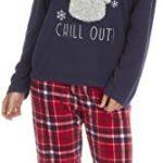 KATE MORGAN Ladies Soft & Cosy Fleece Animal Pyjamas 24
