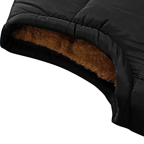 KEFITEVD Men's Winter Fleece Fishing Body Warmer Warm Windproof Gilet Outdoor Photography Vest with Multi Pockets 8