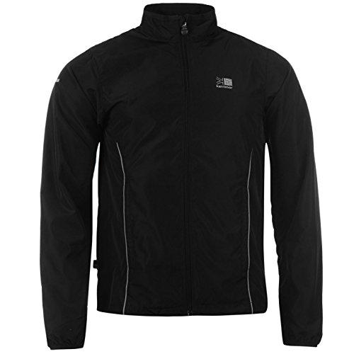 Karrimor Mens Running Jacket Jogging Long Sleeve Zip Fastening Coat Top 1