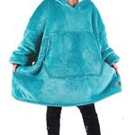 Kato Tirrinia Hoodie Blanket, Oversized Sherpa Sweatshirt, Super Soft Warm Wearable Blanket, Comfortable Giant Hoody… 17