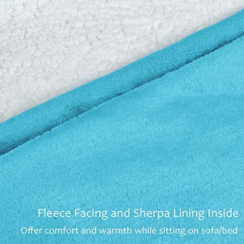Kato Tirrinia Hoodie Blanket, Oversized Sherpa Sweatshirt, Super Soft Warm Wearable Blanket, Comfortable Giant Hoody… 5