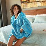 Kato Tirrinia Hoodie Blanket, Oversized Sherpa Sweatshirt, Super Soft Warm Wearable Blanket, Comfortable Giant Hoody… 23