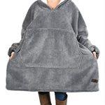 Kato Tirrinia Hoodie Blanket, Oversized Sherpa Sweatshirt, Super Soft Warm Wearable Blanket, Comfortable Giant Hoody… 28