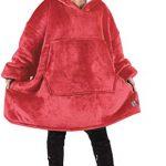 Kato Tirrinia Hoodie Blanket, Oversized Sherpa Sweatshirt, Super Soft Warm Wearable Blanket, Comfortable Giant Hoody… 30