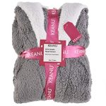 Keanu Ladies Womens Girls Matching Mother & Daughter Novelty Soft Snuggle Fleece Dressing Gown - Onesee 19