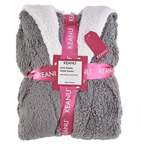 Keanu Ladies Womens Girls Matching Mother & Daughter Novelty Soft Snuggle Fleece Dressing Gown - Onesee 6