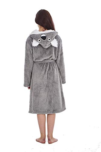 Keanu Ladies Womens Girls Matching Mother & Daughter Novelty Soft Snuggle Fleece Dressing Gown - Onesee 7