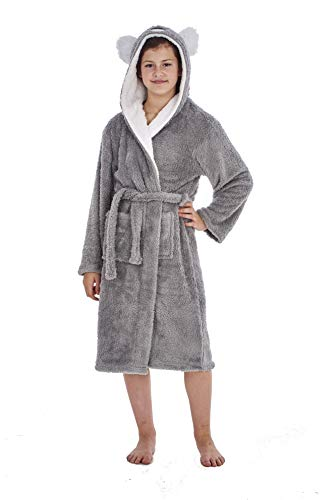 Keanu Ladies Womens Girls Matching Mother & Daughter Novelty Soft Snuggle Fleece Dressing Gown - Onesee 1