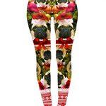 Kukubird Loungewear Christmas Winter Snowflake Santa Reindeer Stocking-Filler Women's Yoga Leggings Gym Fitness Running… 27