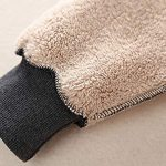 Ladies Plain Hoodie Winter Warm Fleece Lined Zip Up Jacket Coat for Women 19